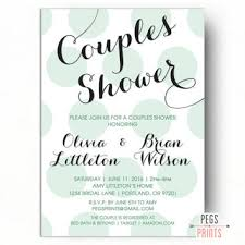 couples shower coed bridal shower invitations couples shower invitations template