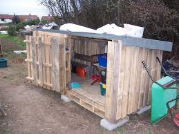Diy Wood Shed Design by Best 25 Pallet Shed Plans Ideas On Pinterest Shed Plans Pallet
