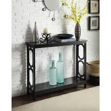 convenience concepts savannah console table convenience concepts american heritage cherry console table