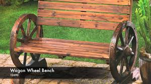 wagon wheel benches 119 furniture design on wagon wheel bench ebay