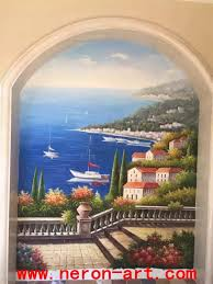 20 top italian art wall murals wall art ideas italian landscape wall muralneron art with regard to italian art wall murals image 6 of