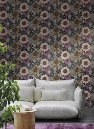 york wallcoverings home design anemones wallpaper in pearlescent and silver by missoni home for