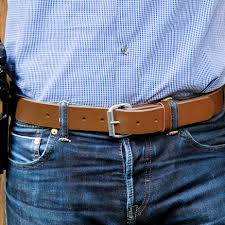 1 ccw belt for concealed carry hanks gunner gun belt