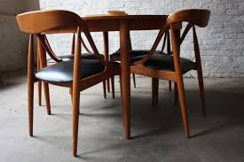 Teak Dining Room Set by Danish Modern Dining Table And Chairs Ciov