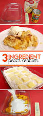 3 ingredient peach cobbler recipe yellow cake mixes peach