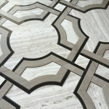 art deco flooring art deco water jet mosaic timber white marble athens gray marble