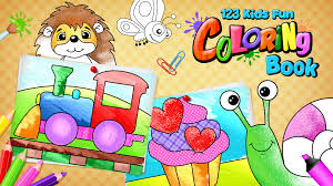 123 kids fun coloring book ios android app toddlers