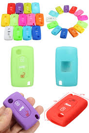 buy peugeot visit to buy silicone 3 button remote key fob flip cover for