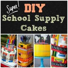 school gifts the 25 best school supplies cake ideas on