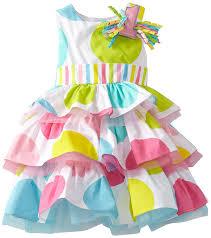 mud pie toddler birthday dress multi