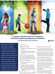 csep guidelines handbook physical exercise physical fitness