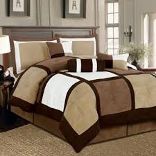 Brown Queen Size Comforter Sets Cheap Brown And White Comforter Set Find Brown And White