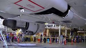 boeing 757 landing gear demonstration detailed gear swing youtube