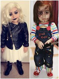 chucky and tiffany brideofchucky halloween costumes pinterest