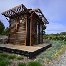 modular unit kithaus k3 prefab modular unit in malibu california backyard