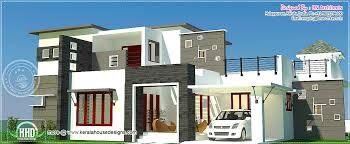 3 bhk 2300 sq feet contemporary house exterior kerala home