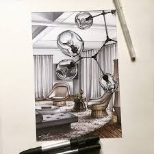 interior sketches 38 best interior sketches images on pinterest interior sketch