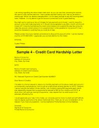 sample hardship letters get out of credit card debt docsity