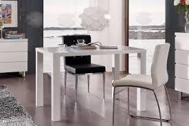 cuisine laque blanc table de cuisine design laquée blanche destiny table de cuisine