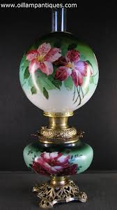 Hand Painted Vase Hand Painted Vase Lamp Marriage Oil Lamp Antiques