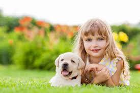 Wallpaper Children Wallpaper Puppy Retriever Little Girls Dogs Cute Beautiful Children