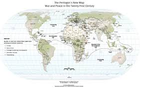 pentagon map p m barnett the pentagon s map recast as