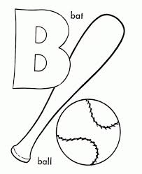 letter b coloring page regarding motivate to color an image cool
