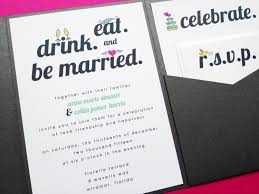 eat drink and be married invitations eat drink and be married invitations template best template