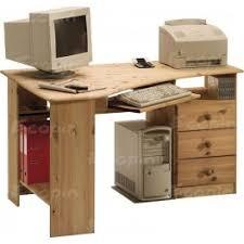 bureau d angle en pin bureau d angle en pin massif miel huilé
