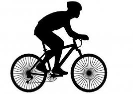 bicycle cake topper 12 x novelty cycling silhouette edible standup wafer paper cake