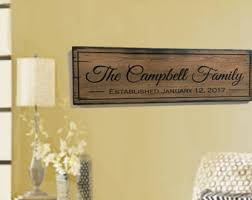 Personalized Wood Signs Home Decor Personalized Wooden Signs Shabby Home Decor By Signsofadaydreamer