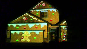 House Christmas Light Projector by Christmas Projection House Project Youtube