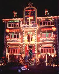 dyker heights photos of christmas lights in brooklyn new york