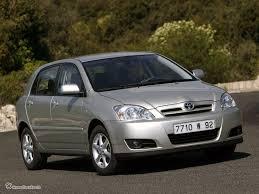 toyota corolla ix e120 e130 facelift hatchback 5 doors