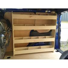 Ford Transit Connect Shelving by Transit Connect Off Side Racking
