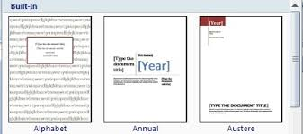 cover page templates for word 2010 amitdhull co