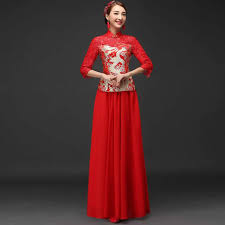 aliexpress com buy chinese traditional red dress bride vintage