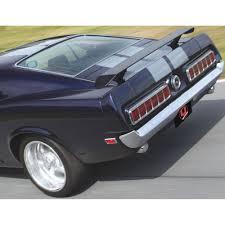 1969 mustang rear mustang rear spoiler assembly 1969 1970 cj pony parts