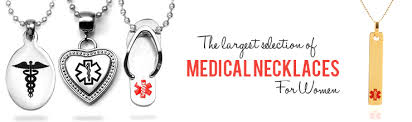 necklaces for alert necklaces for women id necklaces for women