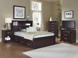 Furniture Carolina Signature Bookcase W Underbed Storage Bedroom - Carolina bedroom set