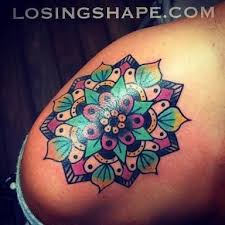 best 25 colorful mandala tattoo ideas on pinterest back of