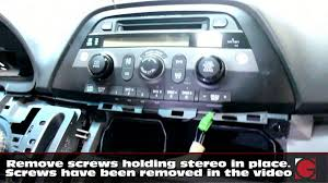 honda odyssey 2005 aux input how to remove stereo install grom iphone usb bluetooth kit honda