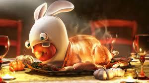 wallpaper thanksgiving turkey raving rabbit wallpapers