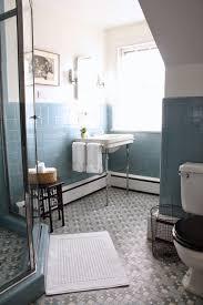 Vintage Bathroom Tile Ideas Blue Bathroom Tile Ideas Flooring Fixtures Sink Update