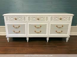 Decorating A Credenza Entryway Credenza Makeover U2013 From Distressed To Refined