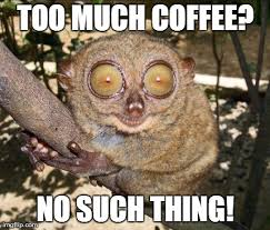 Too Much Coffee Meme - imgflip