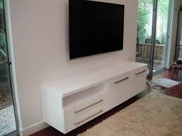 white floating media cabinet floating media cabinet elegant