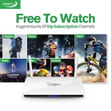 iptv streaming box leadcool android wifi 1g 8g with qhdtv