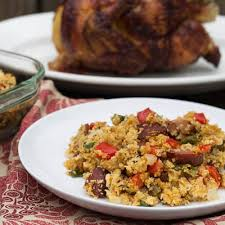 Southern Stuffing Recipes For Thanksgiving Andouille Sausage And Cornbread Stuffing Spicy Southern Kitchen