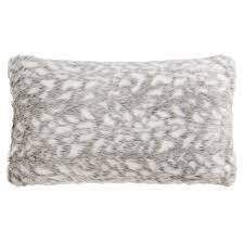 Winston Patio Furniture Cushions by Nicole Miller Winston Faux Fur Throw Pillow 14x24 U201d Save 31